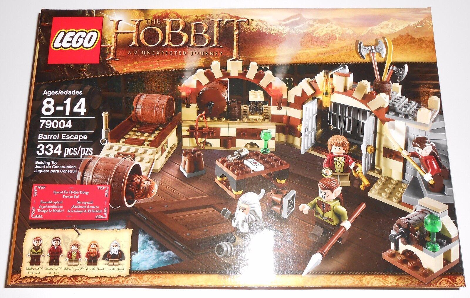 LEGO The Hobbit 79004 Barrel Escape NEW NEW NEW Retired Set 525af6