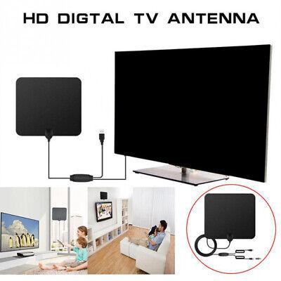 50miles Indoor TV VHF UHF4K 1080P HDTV HD DVB-T2 ATSC Transparent Mobile Antenna