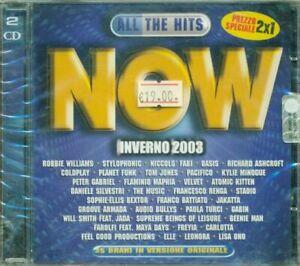 All-The-Hits-Inverno-2003-Planet-Funk-Coldplay-Franco-Battiato-2X-Cd-Nuovo