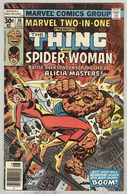 Marvel Two-In-One #30 August 1977 VG//FN Spider-Woman