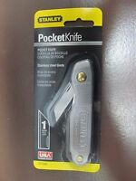 Stanley Pocket Knife 10-049 Made In The Usa