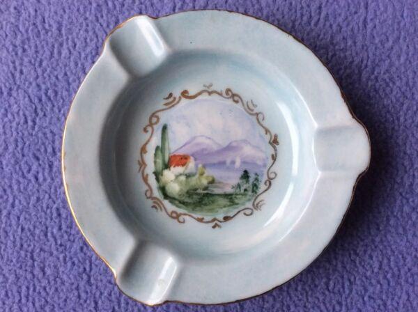 + Vintage Dipinto Shelley Portacenere Fine Porcellana Cinese Jc-made In Inghilterra-superbi +