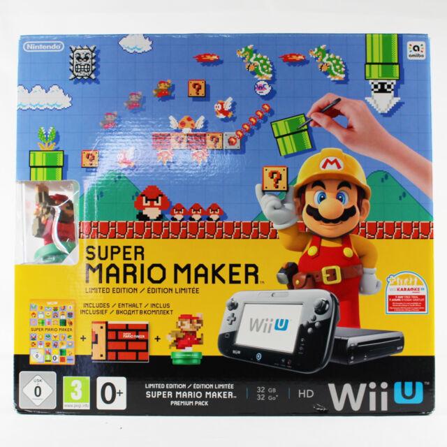 Nintendo Wii U Super Mario Maker Limited Edition Konsole - 32 GB OVP