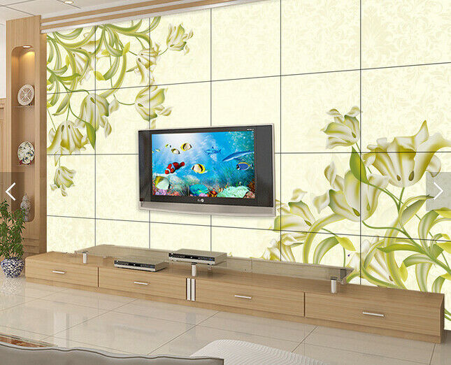 3D Leaf Flowers 65 Wall Paper Wall Print Decal Deco Indoor Wall Mural CA