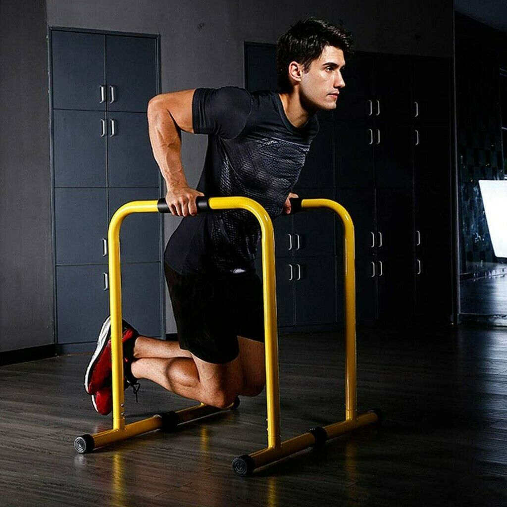 DIP STATION Parallel Bars Pull Up Body Balance Exercise Connector Training Stand