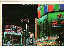 """PUNK"".PUBLIC IMAGE LTD.LIVE IN TOKYO.ORIG UK 2 LP's.VG+/EX"