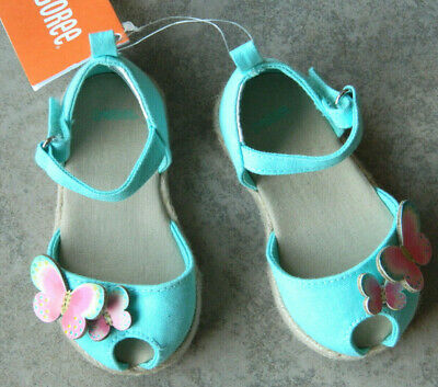 NWT Gymboree Spice Market Butterfly Sandals 4,5,6,7,8 Toddler Shoes