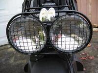 Set Headlight Cover Wire Mesh Honda Ruckus Scooter Zoomer Head Light Nps50