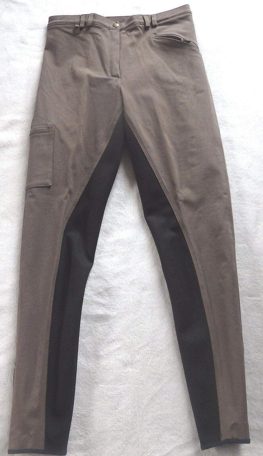 Damen Reithose mit  Vollbesatz Vollbesatz Vollbesatz ,braun,Gr.68,Arabella ChatOrange (33) bce09f