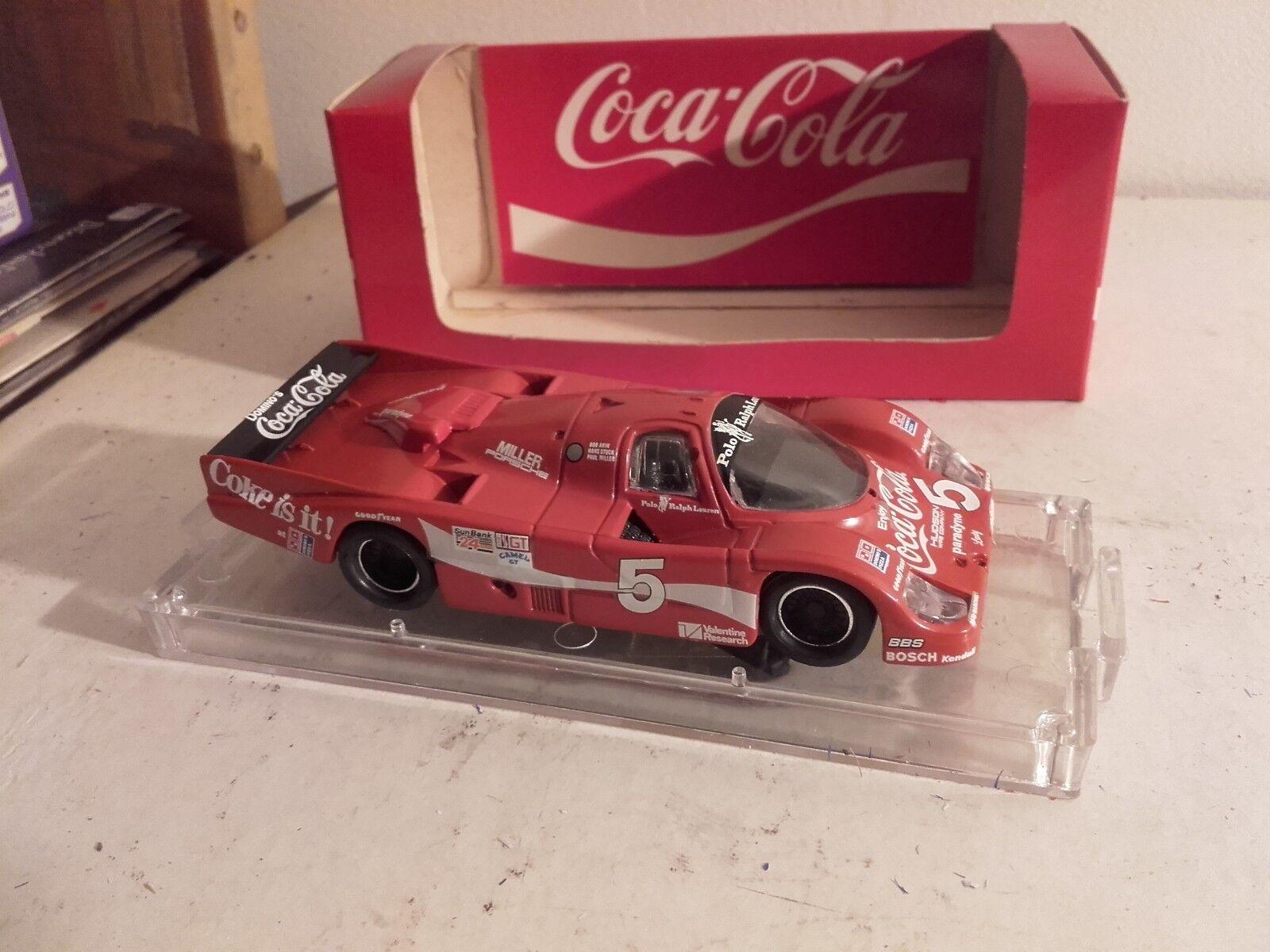 Porsche 962 coca cola imsa daytona 1985 in her box