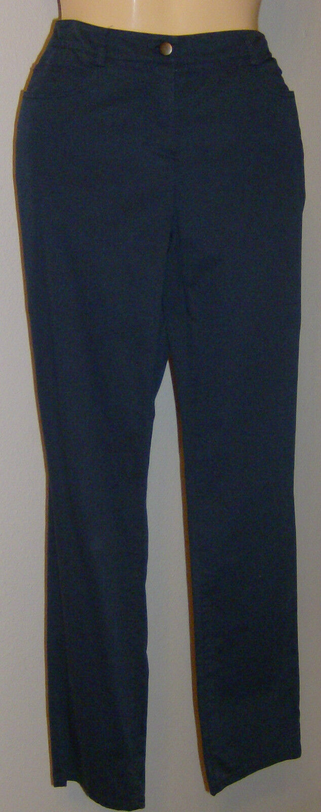 Eileen Fisher  Pants NWT Lean Jean Indigo Size Small  Washable Cotton Spndx