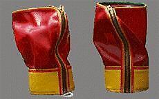 Nuevas botas Caballo Hielo-Ice hacia abajo las piernas, largo, Vinilo, cierre de cremallera