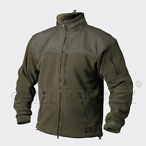 Agressif Helikon Tex Classique Army Outdoor Veste Polaire Veste Olive Vert 3xl / Xxxlarge