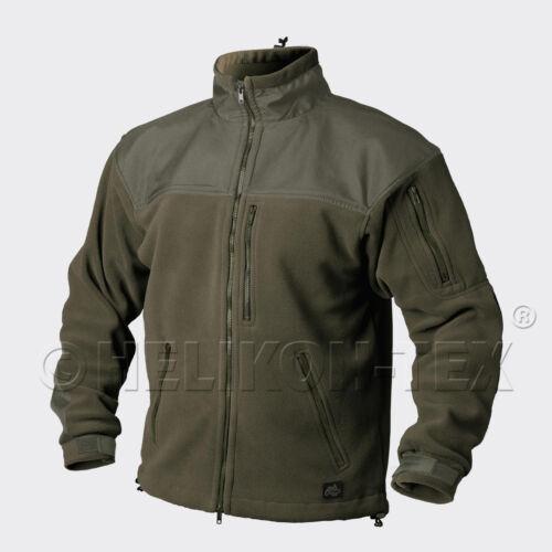 HELIKON TEX CLASSIC ARMY OUTDOOR FLEECE Veste Jacket OLIVE GREEN XL/XLarge