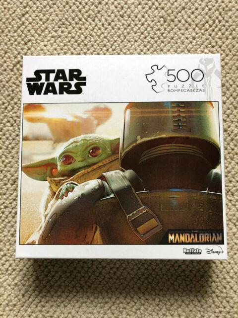 NEW Star Wars The Mandalorian The Child Baby Yoda 500 Piece Buffalo Games Puzzle
