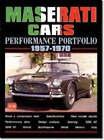 Maserati Cars Performance Portfolio 1957-70 by Brooklands Books Ltd (Paperback, 2002)