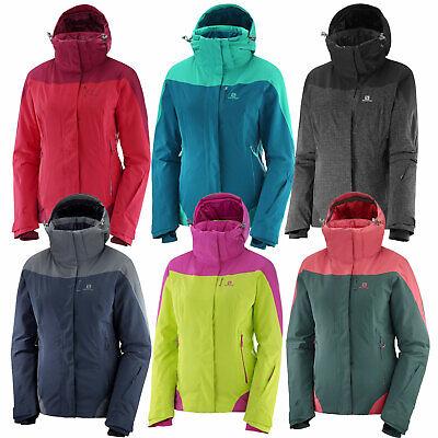 Salomon Icerocket Jacket Damen Skijacke Snowboardjacke 05ldv