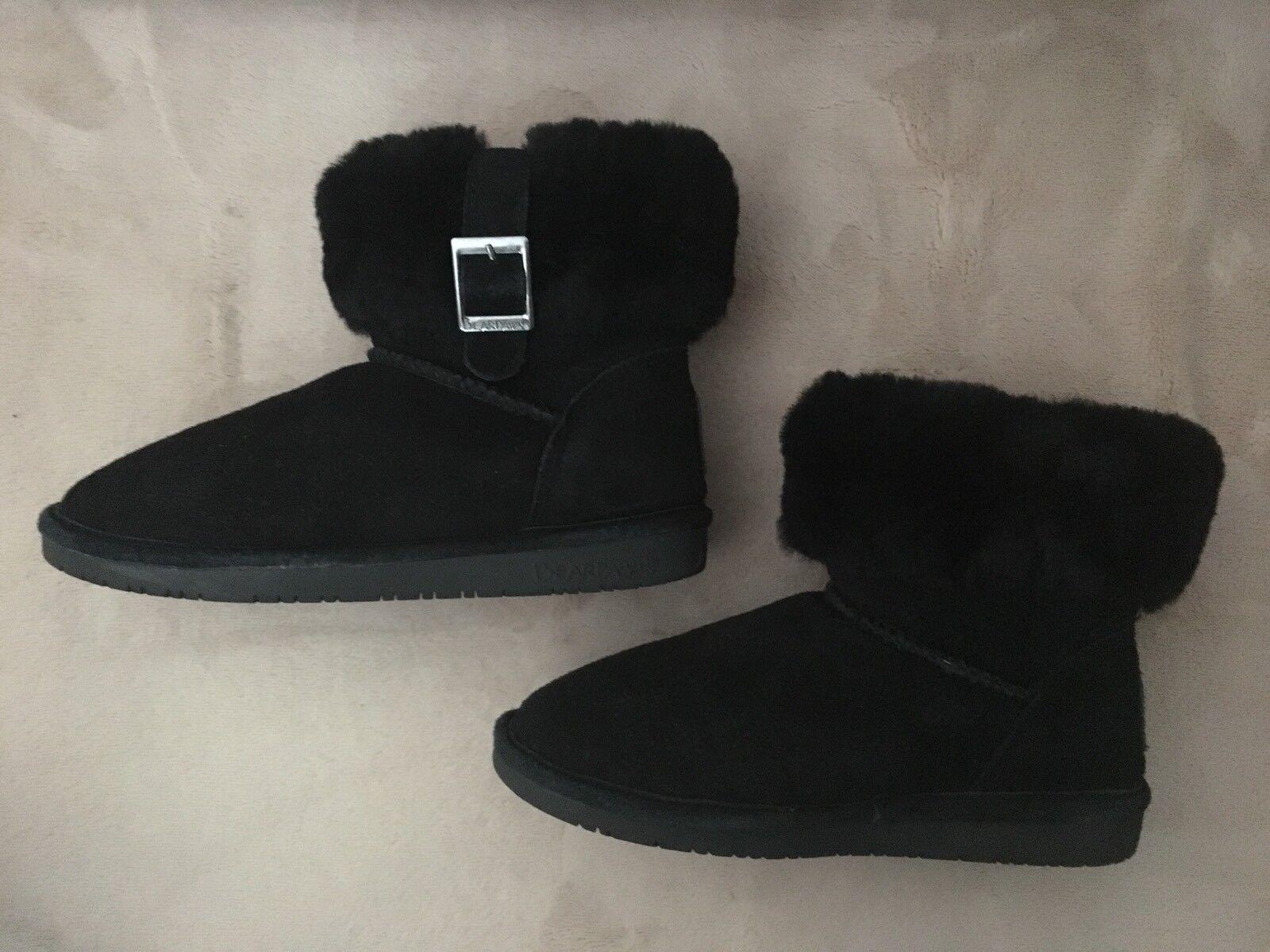 Bearpaw Bearpaw Bearpaw Boots Abby Black With Box Sz 6 ed7971