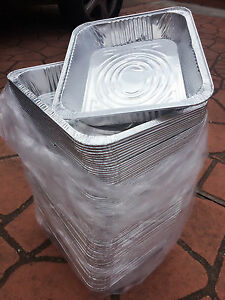 Aluminum Foil Trays Bbq Disposable Roasting Takeaway Oven
