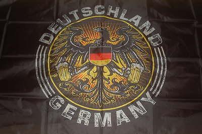 Fahne Flagge Frohe Ostern Eichh/örnchen NEU 90 x 150 cm