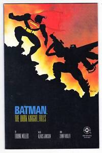 BATMAN THE DARK KNIGHT FALLS by Frank Miller (1986) NM condition - 1st print