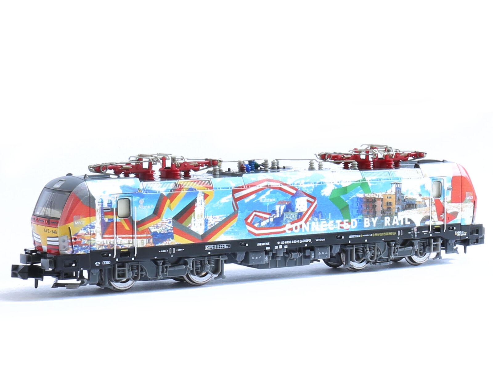 Hobbytrain h2983s-DCC + SX + Sound gasóleo br193 Vectron TX Logistik EP. vi