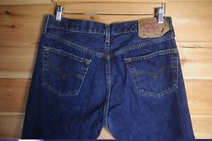 Men S Levi S 501 Dark Blue Denim Jeans Made In Uk 36x32 Ebay,How To Pick An Area Rug For Living Room