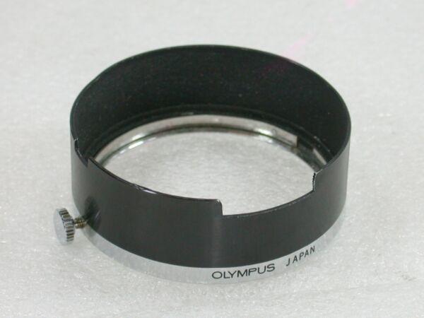 Genuine Olympus Clamp-on Metal Lens Hood Pour Olympus Trip 35, 35rc, 35ec Etc.