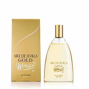 Detalles de Aire de Sevilla Gold Perfume Mujer 150 ML