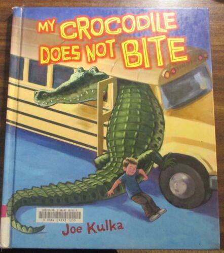 1 of 1 - USED (GD) My Crocodile Does Not Bite (Carolrhoda Picture Books) by Joe Kulka
