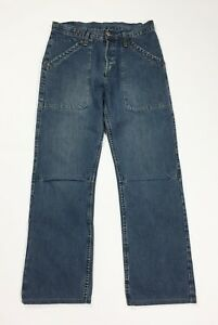 Levis 803 W30 tg 44 jeans uomo usato gamba dritta vintage denim boyfriend T4625