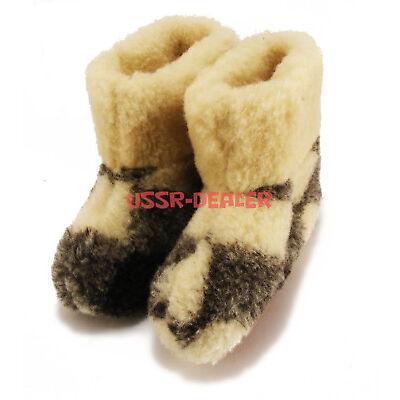 "✔✔✔ COZY FOOT - WOMENS 100% PURE SHEEP WOOL ""MERINO"" SHEEPSKIN SLIPPER BOOTS"