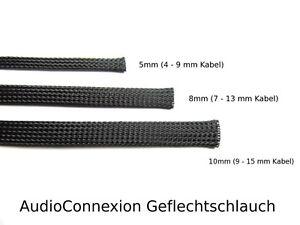 10m-GS-08-Pet-Negro-Manguera-Trenzada-Manguera-Trenzada-8mm-7-13mm-Cable