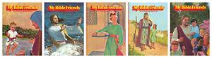 NEW-My-Bible-Friends-Etta-Degering-5-vol-set-Kids-Bible-Stories-HC-1-2-3-4-Lot