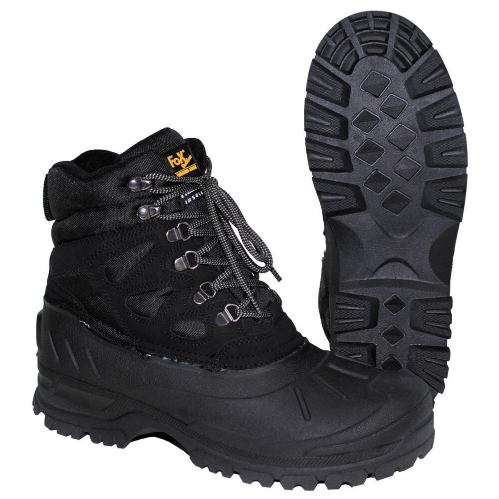 Trekkingstiefel FOX THERMO schwarz Stiefel Schuhe Winterstiefel Kälteschutz
