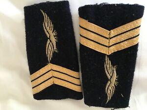 Armee-de-l-039-Air-fourreaux-d-039-epaule-de-sergent-chef