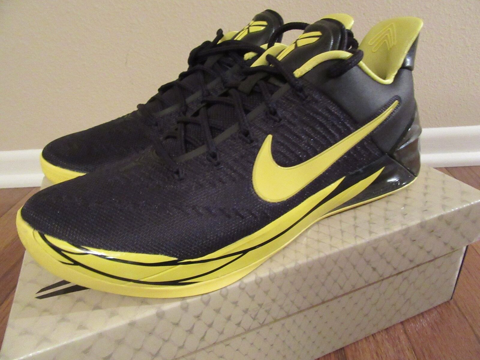 91952091695e ... where can i buy nike kobe a.d. oregon size 11 ds black yellow strike  922026 001
