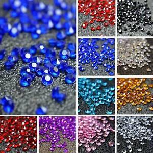 2000-Mixte-Mariage-Decoration-Dispersion-Table-Cristaux-Diamants-Acrylique-Confettis