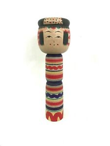 Dento-Kokeshi-Bambola-Giapponese-Yajiro-Made-in-Japan-116