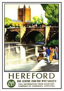 Talyllyn Sir Handel Railway Vintage Old Picture Retro Poster A4 Print