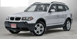 2004 BMW X3 safetied and ready to roll