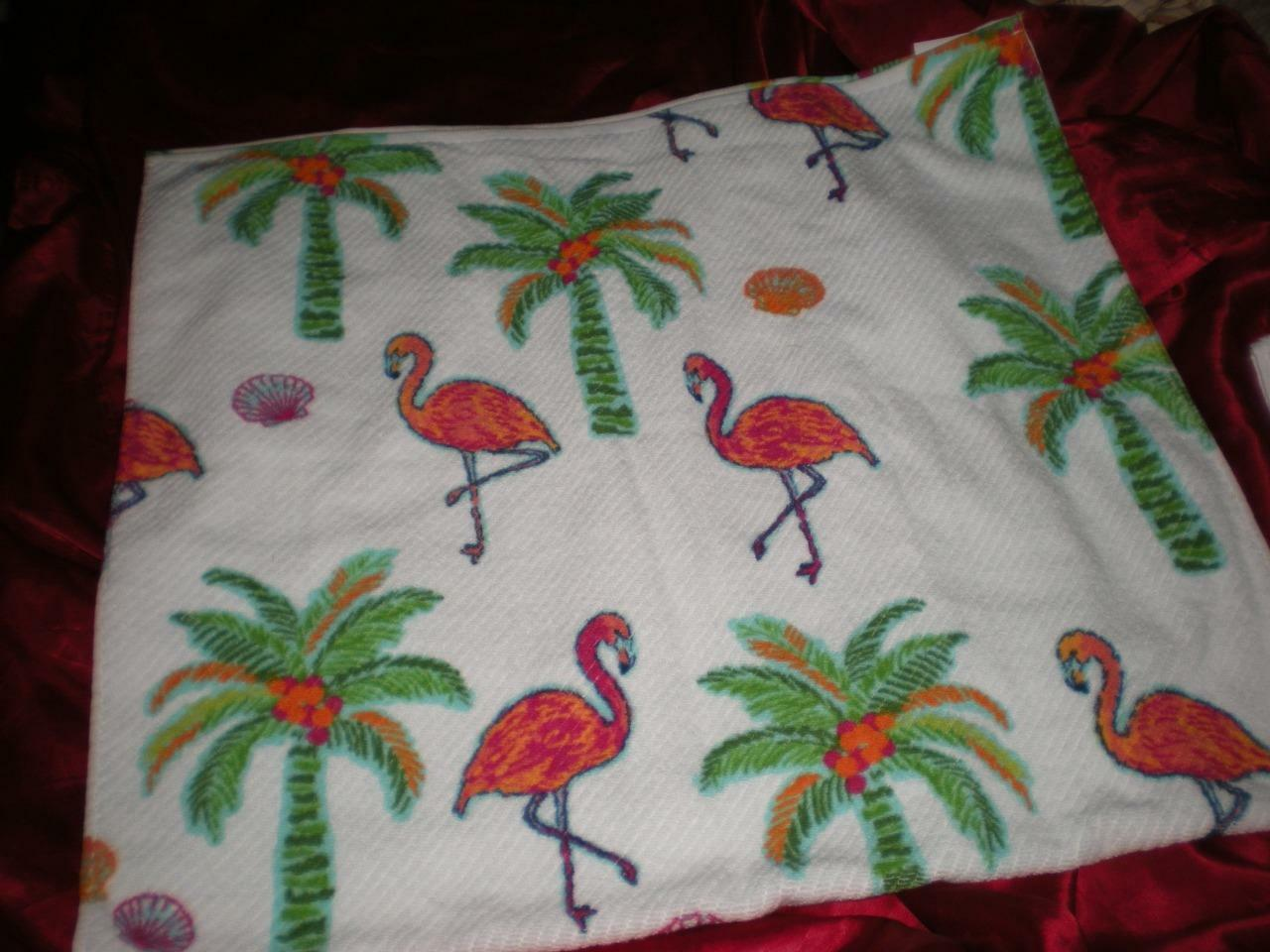 TROPICAL Rosa FLAMINGO 3 3 3 PC MULTI-Farbe 100% COTTON BATH ROOM TOWEL SET 896fbd