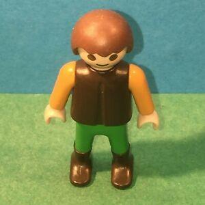 Personnage-enfant-cheveux-marron-Playmobil-ref-19