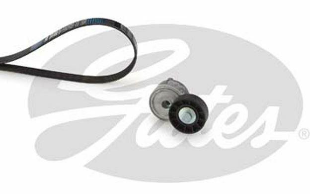 GATES Kit de courroies d'accessoire pour PEUGEOT 307 407 CITROEN C5 K026PK1218