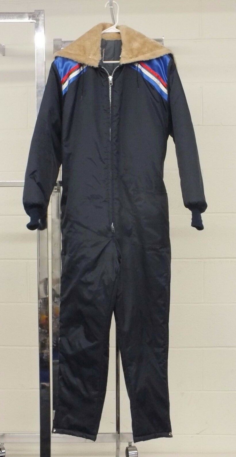 Vintage United Pioneer Fully Insulated Snowmobiling Snowsuit Men's Medium GREAT