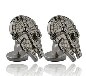 Star-Wars-Grey-Millennium-Falcon-Cufflinks