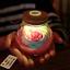 Rose-Light-Bottle-Creative-Romantic-RGB-LED-Dimmer-Light-16-Colors-Lamp-W-remote miniature 3