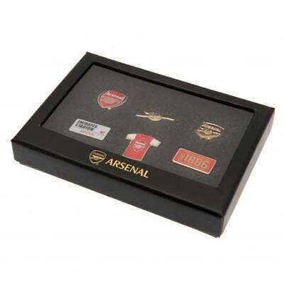 Arsenal F.c 6 Piece Badge Set Official Merchandise