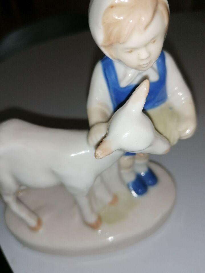 Figur Pige med ged, Tysk figur