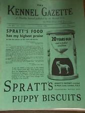 The Kennel Club Gazette April 1936 Crufts Dog Show Illustrated Real Photos
